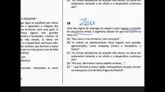 Prova de Português do TJRJ comentada parte 5