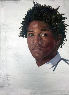 Brenda Zlamany, Portrait of Jean Michel Basquiat, 2016, CMA: Benefit Auction 2016