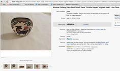 GOLDIE HAYA pot for sale http://www.ebay.com/itm/Acoma-Pottery-Rare-Find-Small-Vase-Goldie-Hayah-signed-Heart-Line-Dear-/251971373825?_trkparms=aid%3D222007%26algo%3DSIC.MBE%26ao%3D1%26asc%3D20140407115239%26meid%3D9abfe19358734871b5bc0b2bc19d5f5e%26pid%3D100204%26rk%3D24%26rkt%3D29%26sd%3D271194043068&_trksid=p2047675.l2557&nma=true&si=zLJuWznKvXyYdwGmNqTvDj4ikpY%253D&orig_cvip=true&rt=nc