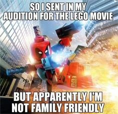 Well, that & The Lego Movie was made by Warner Bros. & they own DC Comics, so, there's that.