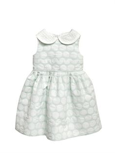 SIMONETTA MINI - QUILTED EFFECT PRINTED DRESS