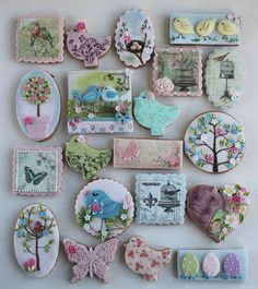 Spring inspired cookies | by bubolinkata