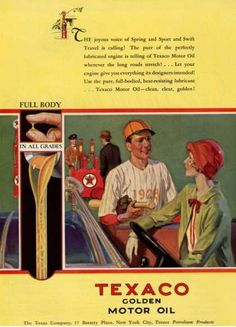 Texaco motor oil co.