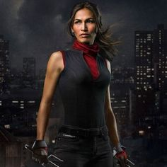 "Elodie Yung as Elektra in ""Marvel's Daredevil"""
