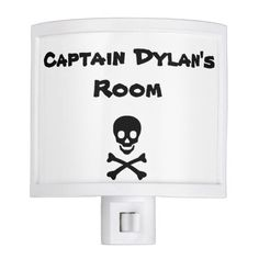 Personalized Pirate Night Light that kids will love!