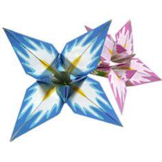 あやめ - 折り紙 - アートキヤノン クリエイティブパーク