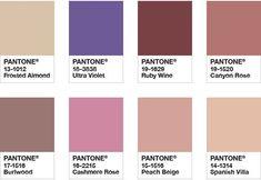 Pantone Color of the Year 2018 - Color Palette Quietude