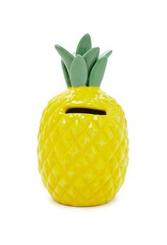 Pineapple Coin Bank | Forever 21 - 1000095619 $7.90