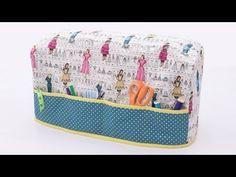 نورية { خياطة غطاء للأجهزه المنزلية} Nooriyah /how to sew a cover for any machine - YouTube