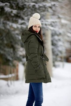Take a look at these ladies long coat with hood ideas that women love for this winter! Check more @ snazzylair.com
