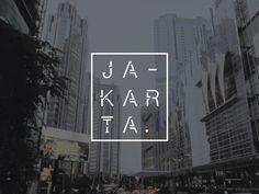 Jakarta Geometric Display Font