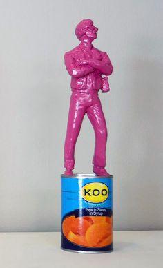 Available: 'The Warhol Affect' is a pop art sculpture by contemporary artist Jonathan van der Walt, size 8 x Secure online purchase & delivery to door. Warhol, Tribal Art, Contemporary Artists, Sculpture Art, Pop Art, Van, African, Stuff To Buy, Design