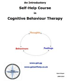COGNITIVE BEHAVIORAL THERAPY (CBT) WORKSHEETS FOR LOW SELF