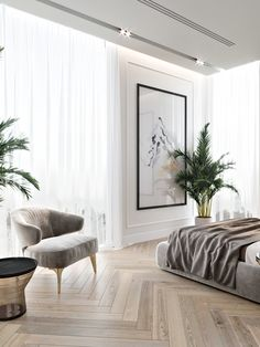 Mid-Century Bedroom Decor Tips & Tricks to Make This Bedroom Decor Last You Seasons and Seasons. Decorating a bedroom decor might be one of the biggest hardship Home Bedroom, Modern Bedroom, Bedroom Decor, Contemporary Bedroom, Bedroom Ideas, Bedroom Furniture, Bedroom Romantic, Large Bedroom, Dream Bedroom