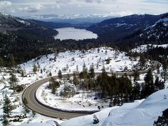Donner Pass, the place, not the unfortunate history