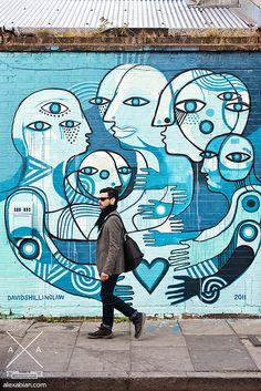 David Shillinglaw Wall at Shoreditch, London (UK) / hipicon.com
