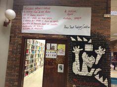 90 Asesinadas en lo que va de año. Ni una más.  Así se ha despertado hoy la Facultad de CCPP. A las 13 haremos un minuto de silencio en el hall por las olvidadas. #Guernica #simbolo