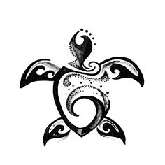 See this and of other Turtle temporary tattoo designs. Then test-drive your custom tattoo before committing forever with Momentary Ink featuring Real Teal™. Future Tattoos, Mom Tattoos, Body Art Tattoos, Small Tattoos, Sleeve Tattoos, Medium Tattoos, Hawaiianisches Tattoo, Arm Band Tattoo, Gray Tattoo