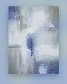 Shabby Chic Original Painting Abstract Acrylic Art Titled: White Sands 6 by Ora Birenbaum Abstract Canvas Art, Acrylic Art, Texture Painting, Art Techniques, Painting Inspiration, Watercolor Art, Photo Art, Modern Art, Artwork
