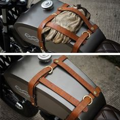Once again, some wonderful accents to a great looking bike. Motorcycle Tank, Motorcycle Leather, Motorcycle Style, Motorcycle Design, Bike Design, Vintage Motorcycles, Custom Motorcycles, Custom Bikes, K100 Bmw