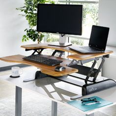 varidesk adjustable stand up desk store sit and stand desk ergonomic