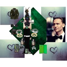 """""""Date Night With Hiddleson: Loki Style"""" by miku-x on Polyvore"""