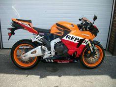 2013 Honda CBR 600RR w/ Repsol Kit