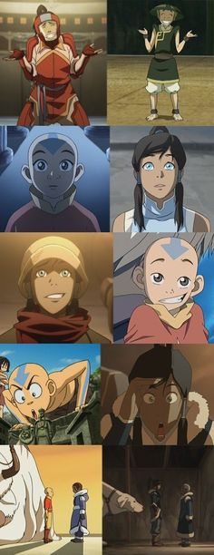 Same avatar... I cried when in the first episode of LOK when Katara smiled at Korra's little burst of gleeful silliness. Katara saw so much of Aang in that one little moment.
