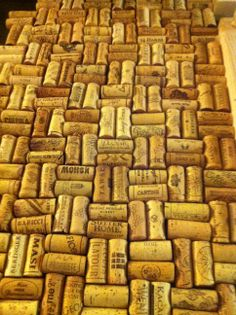 1000 images about our home bar on pinterest wine crates for Cork bar top