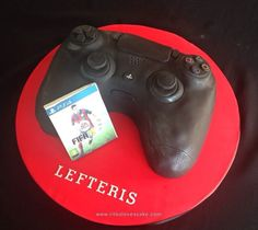 PS4 controller cake