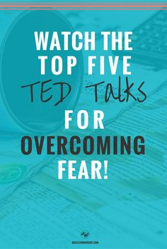 Watch these Top 5 TED talks on overcoming fear when you're feeling low. Click…