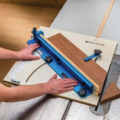 Table Saw Crosscut Sled Rockler Woodworking and Hardware Rockler Woodworking, Woodworking For Kids, Woodworking Skills, Popular Woodworking, Woodworking Furniture, Woodworking Crafts, Woodworking Projects, Woodworking Videos, Woodworking Equipment