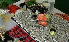 Have a sushi bar at your Albany Wedding