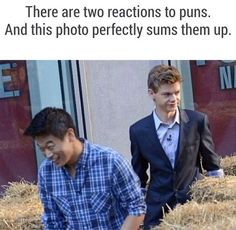 Reactions to Puns Funny Quotes, Funny Memes, Jokes, Puns Hilarious, Funny Blogs, Funny Tweets, Movie Quotes, Stupid Funny, The Funny