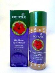 Bio Flame of the Forest olejek do włosów farbowanych.