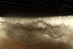 Texas' Rice University Art Gallery has invited Yasuaki Onishi to create a site-specific installation that, albeit in a different fashion, also exhibits massive space and volume. Its reverse sculpture. Damian Ortega, Instalation Art, Glue Art, Japanese Artists, Les Oeuvres, Sculpture Art, Cool Art, Contemporary Art, Art Photography