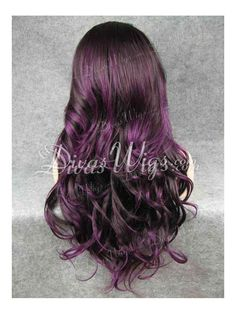 Sorta want to do this. Go a darker brown with some purple :)