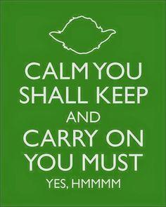 Znalezione obrazy dla zapytania yoda calmness