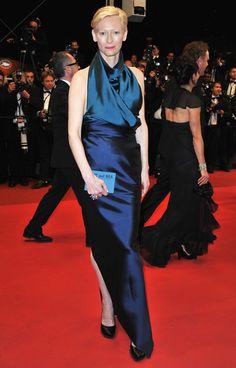 Tilda Swinton Clothes - Cannes Film Festival 2011
