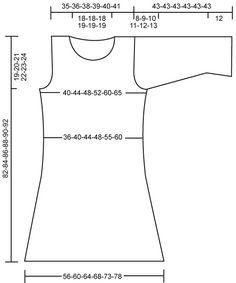 "**Grey tunic  DROPS 109-39 - DROPS dress in ""Alpaca"" and ""Kid-Silk"". Size: S - XXXL - Free pattern by DROPS Design"