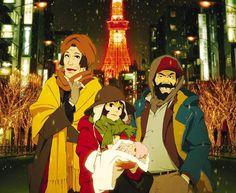 Tokyo Godfathers -Satoshi Kon