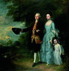 ab. 1762-1766 Thomas Gainsborough - The Byam Family