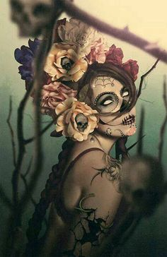 Day of the dead Yes I was Thinking of A Woman! My Eyes just rolled Back in my Head~