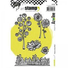 Carabelle Studio Art Stamp Set - Disheveled Nature [SA60269]