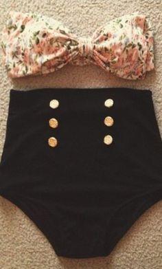 Unique vintage mrs. cooper high waist bottoms black #dress #buyable