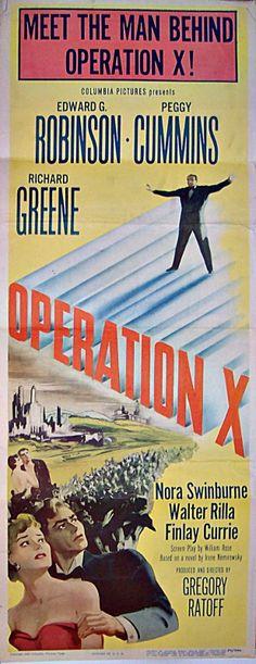 Operação x (1950)