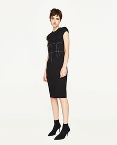 ZARA - WOMAN - TOP STITCHED DRESS