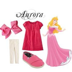 Aurora Inspired Casual by pearlsandcupcakes on Polyvore featuring Mini Boden, TOMS and J.Crew