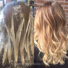 Blonde Balayage for summer. Balayage in Denver. Balayage specialist in Denver… Balayage Hair Caramel, Balayage Hair Blonde, Bayalage, Balayage Diy, Balayage Color, Balayage Technique, Hair Technique, Hair Color Techniques, Painting Techniques