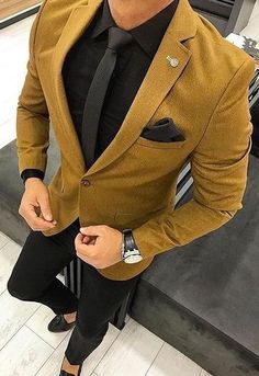 mens suits big and tall regular fit Stylish Men, Men Casual, Terno Slim, Blazer Outfits Men, Men Blazer, Classy Suits, Mode Costume, Designer Suits For Men, Pinstripe Suit